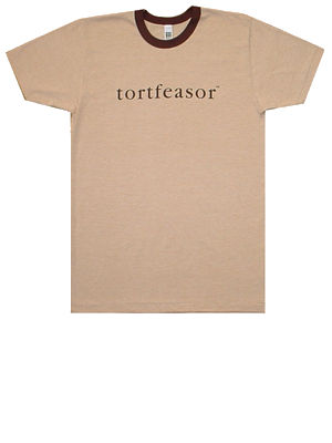 light brown tortfeasor shirt